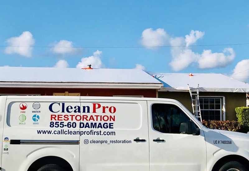 CleanPro Restoration services up to the tri-county area in South Florida including Miami-Dade, Broward and Palm Beach.