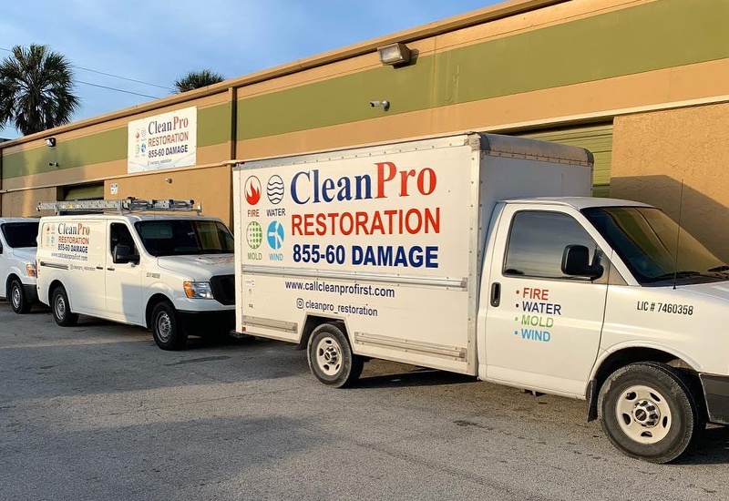 CleanPro Restoration services the entire Miami-Dade Country including Cutler Bay, Palmetto Bay and Pinecrest.