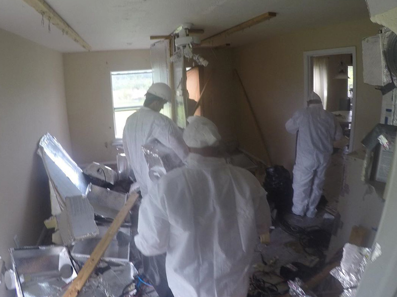 Restore your home to normal conditions after it has been used a marijuana grow house.